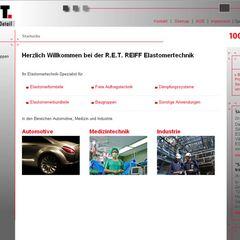 Die neue Website der R.E.T.
