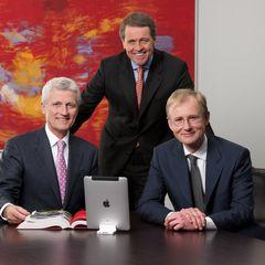 Abb. (v.l.n.r.): Hubert Reiff, Eberhard Reiff, Dr. Immanuel Kohn
