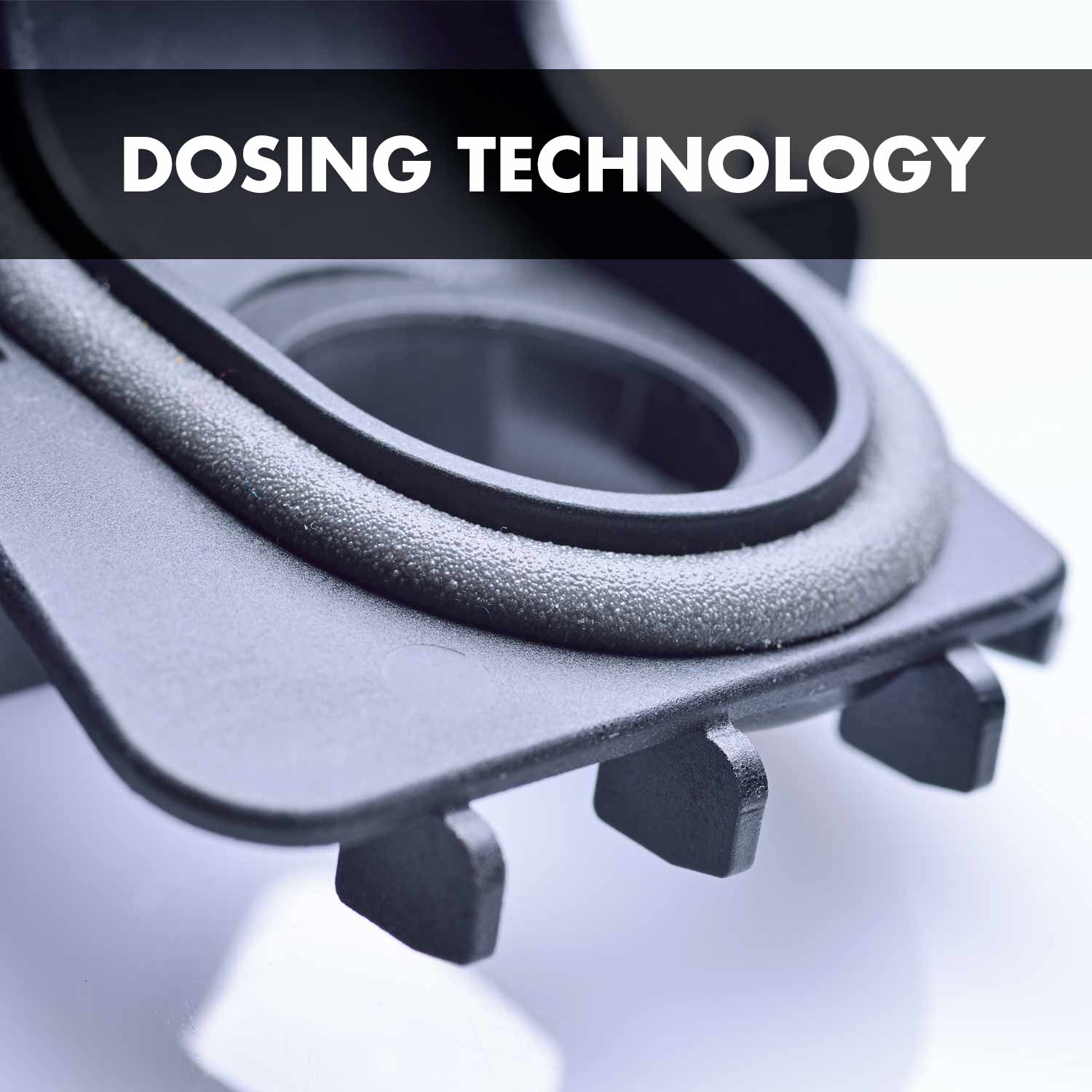 Dosing technology: Dosing of sealants directly onto components precisely matching the contour.